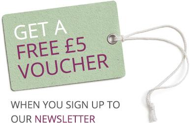 Get a FREE £5 Voucher